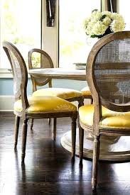 Cane Dining Room Chairs Lovable Charming French Back Round Marble Top Table