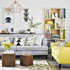 29 stylish grey and yellow living room d礬cor ideas digsdigs
