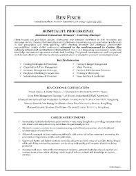Resume Examples Hospitality Writing Example Medical Photo Inspirations Skills On