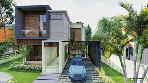 100 Contempory House A Beautiful Contemporary 4 Bedroom Modern House In Kochi Kerala A Walkthrough Video