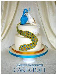 Peacock Wedding Cake CakeCentral