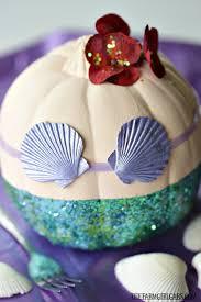 Minnie Mouse Painted Pumpkin by Disney The Little Mermaid Pumpkin The Farm Gabs