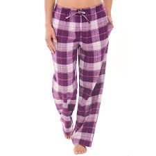 women u0027s pajamas satin cotton and fleece del rossa