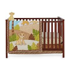 disney the lion king 4 piece crib bedding set simba
