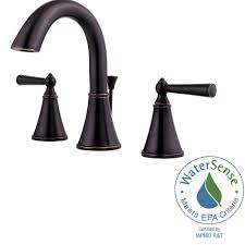 Bathroom Sink Taps Home Depot by Pfister Saxton 8 In Widespread 2 Handle High Arc Bathroom Faucet