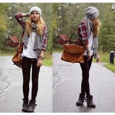 Grunge Style Winter Fashion Outfits Trend 2018