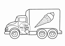 Truck Coloring Book Valid Cars 2 Luxury Ice Cream Page For Kids Of ...
