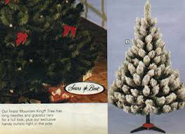 1983 Sears Catalog Artificial Christmas Tree