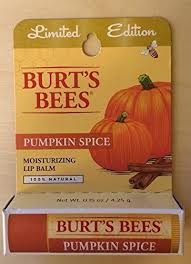 Pumpkin Spice Mms Canada by Amazon Com Burt U0027s Bees Limited Edition Pumpkin Spice Lip Balm