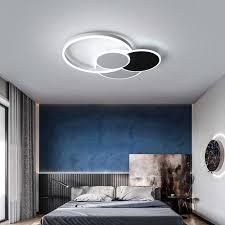 schwarz weiß gold moderne kronleuchter plafonnier led für küche esszimmer schlafzimmer wohnzimmer decke led kronleuchter beleuchtung