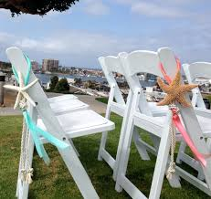 Beach Wedding Starfish Chair Decoration With Satin And Sheer | Etsy 40 Pretty Ways To Decorate Your Wedding Chairs Martha Stewart Weddings San Diego Party Rentals Platinum Event Monogram Decorations Ideas Inside Tables And 1888builders Spandex Folding Chair Cover Lavender Padded Hire For Outdoor Parties In Sydney Can Plastic Look Elegant For My Ctc 23 Decoration White Galleryeptune Aisle Metal Unique Reception Seating