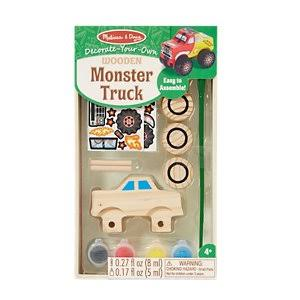 Melissa & Doug Wooden Monster Truck