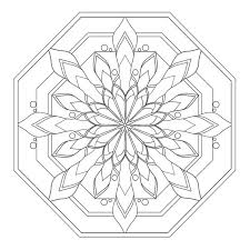Ideas Of Printable Mandala Art Coloring Pages Easy On Example