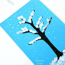 Best Winter Arts Crafts For Kids Images On Day Craft Ideas Easy Tree Finger Painting Beer