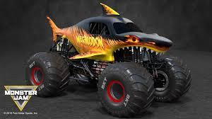 100 Monster Jam Toy Truck Videos ArtStation Megalodon Fire Ivan Kalytovskyy