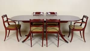 Antique Vintage Dining Table And 6 Chairs Greaves Thomas Fine ...