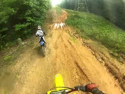 DIRT BIKE CRASH Blew Motor After Riding Dirt Bikes With Friends Pt1
