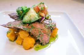 Japanese Pumpkin Salad Recipe by Secret Ingredient Hong Kong Brickhouse U0027s Seared Wagyu Skirt Steak