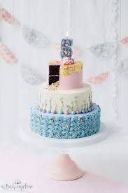 Cheery and Whimsical Birthday Cake
