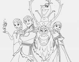 Animals Frozen Sven Coloring Pages Disney All Characters Online For Kids