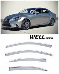 WellVisors Side Window Visors W/ Chrome Trim For 13-UP Lexus IS200t ... Custom Toyota Tundra Trucks Near Raleigh And Durham Nc Led Freightliner Centurycolumbia Side Marker Signal Light With Chrome Truck Bumpers Sr Parts Inc Youtube Semi Truck 142 Full Fender Boss Style Stainless Steel Raneys Spencers Parts Service Show Hlights Trux Front Rear Hub Cap Plastic Abs Nut Cover Kit Hess Special Edition 2006 Nyse Brad Keselowski 2016 Alliance Parts 124 Color Nascar Bug Shields For Peterbilt Kenworth Volvo Accsories Pickup Lovely 1 2 Ton Jim Carter