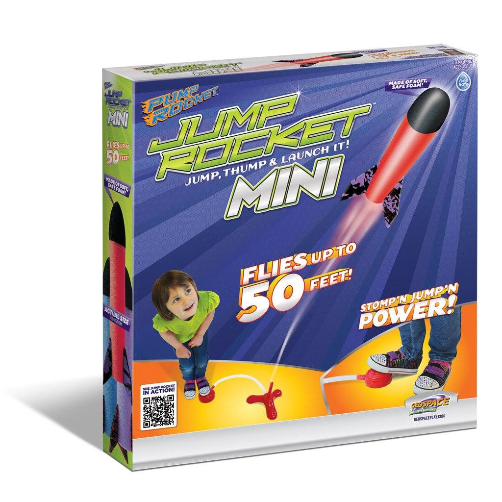 Geospace Jump Rocket Mini Set - with 3 Rockets