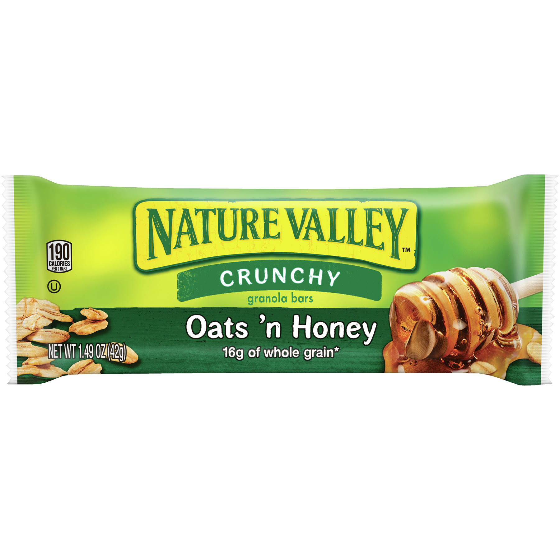 Nature Valley Crunchy Granola Bars Oats 'N Honey - 42g