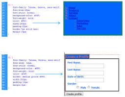 PRINT SCREENS OF CSS BOX MODEL EXAMPLES