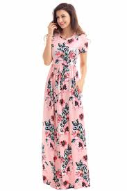 short sleeve maxi dress promotion shop for promotional short