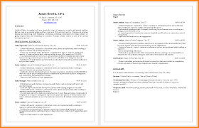 Public Accounting Resumescpa Resume Sample Accountant Examples For Getblown