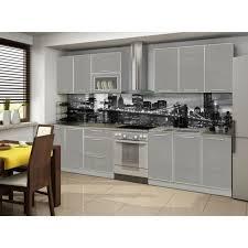 acheter plan de travail cuisine cuisine 2m60 avec plan de travail laquee high gloss achat