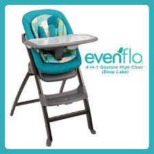 EVENTFLO Quatore 4-In-1 High Chair