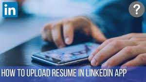 How To Upload Resume In LinkedIn App Security Alert Job Seekers Beware Of This Linkedin Scam How To Upload Resume On In 5 Steps Crazy Tech Tricks Add Resume Lkedin 2018 Create And Share An Infographic Post My Rumes Colonarsd7org Include Your Url 15 Profile Tips Guaranteed To Help You Win More Add Android 9 Nanny Sample Monstercom A Linkedin2019