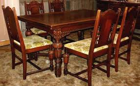 Antique Dining Room Sets Chairs For Sale