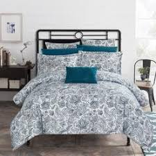 Bar Iii Bedding Vintage Scroll Twin Duvet Cover