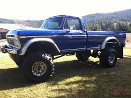 1976 Ford Long Bed Monster Truck Lifted 1977 1978 1979