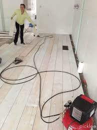 Tiling A Bathroom Floor On Plywood by Best 25 Cheap Wood Flooring Ideas On Pinterest Cheap Bathroom