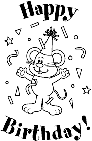 happy birthday clipart black and white bmp black and white birthday clip art 533 813