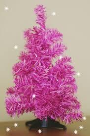 Vintage Pink Christmas Tree