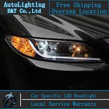 aliexpress buy car styling for mazda6 headlights 2003 2013