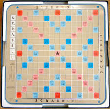Scrabble Deluxe Board Selchow Righter