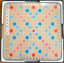 Scrabble Deluxe Board Selchow Righter