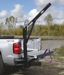 Vestil - Hitch-Mounted Truck Jib Crane