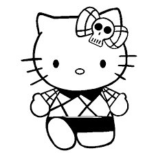 Fancy Hello Kitty Coloring Page 34 About Remodel Pages For Kids Online With