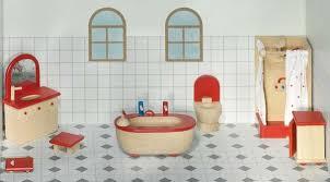goki puppenmöbel badezimmer für puppenhaus