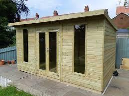 100 Modern Summer House Pent Summer House 10x8 Loglap All Size Available In Mottram Manchester Gumtree