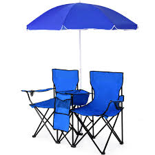 Costway: Costway Portable Folding Picnic Double Chair W/Umbrella ... Fniture Lifetime Contemporary Costco Folding Chair For Indoor And 10 Stylish Heavy Duty Camping Chairs Light Weight Costway Portable Pnic Double Wumbrella Alinum Alloy Table In Outdoor Garden Extensive Range Of Tentworld Ruggedcamp Versalite Beach How To Choose And Pro Tips By Dicks Time St Tropez Collection Sports Patio Trademark Innovations 135 Ft Black 8seater Team Fanatic Event Pgtex Cheap Sale
