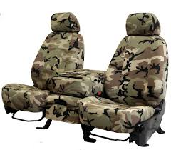 CalTrend - Retro Camouflage Custom Fit Seat Covers | Best Camo Car ...