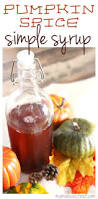 Dunkin Pumpkin Spice Syrup by Pumpkin Spiced Simple Syrup Recipe Mama Loves Food