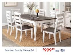 French Country White Two-Tone 5 Piece Dining Set - Bourbon ... Refinished Painted Vintage 1960s Thomasville Ding Table Antique Set Of 6 Chairs French Country Kitchen Oak Of Six C Home Styles Countryside Rubbed White Chair The Awesome And Also Interesting Antique French Provincial Fniture Attractive For Eight Cane Back Ding Set Joeabrahamco Breathtaking